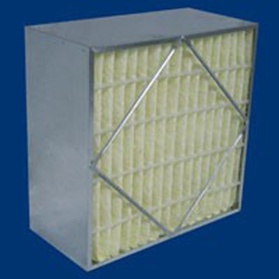 Tri-Cell Syn-Pac air filters synthetic fiberglass media galvanized steel frame MERV efficiencies