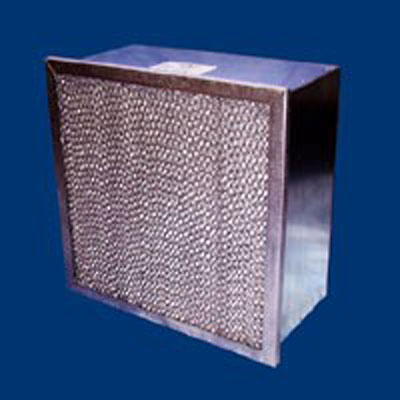 Tri-Cell micro-cell filters ASHRAE HEPA rigid efficiencies 0.3micron-95% headers various thicknesses air volumes washable