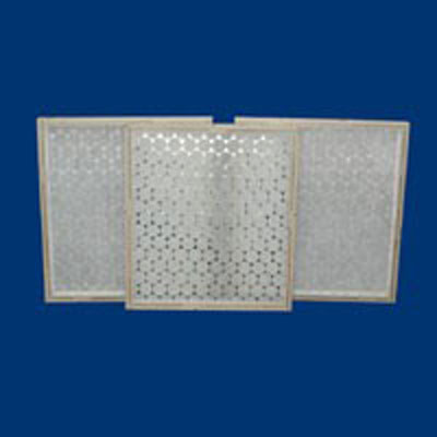 Tri-Glass disposable air filters throw-away fiberglass air filters bottle-cap rigid MERV efficient